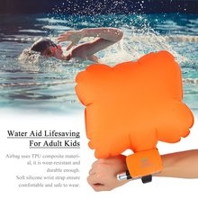 Anti-Drowning Bracelet Rescue Device Floating Wristband Wearable Swimming Surf Safe Device Water Aid Lifesaving For Adult Kids(China)