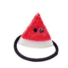 Fruit Slice Multi-Patterns Hair Accessories Girl Women Elastic Hair Band Rubber Bands Headwear Tie Gum Holder Rope Scrunchy(China)
