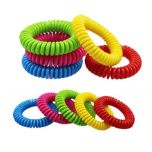 High Quality Natural Plant Mosquito Repellent Bracelets Pest Control Repeller Anti-Mosquito Insect Outdoor For Adults Kids(China)