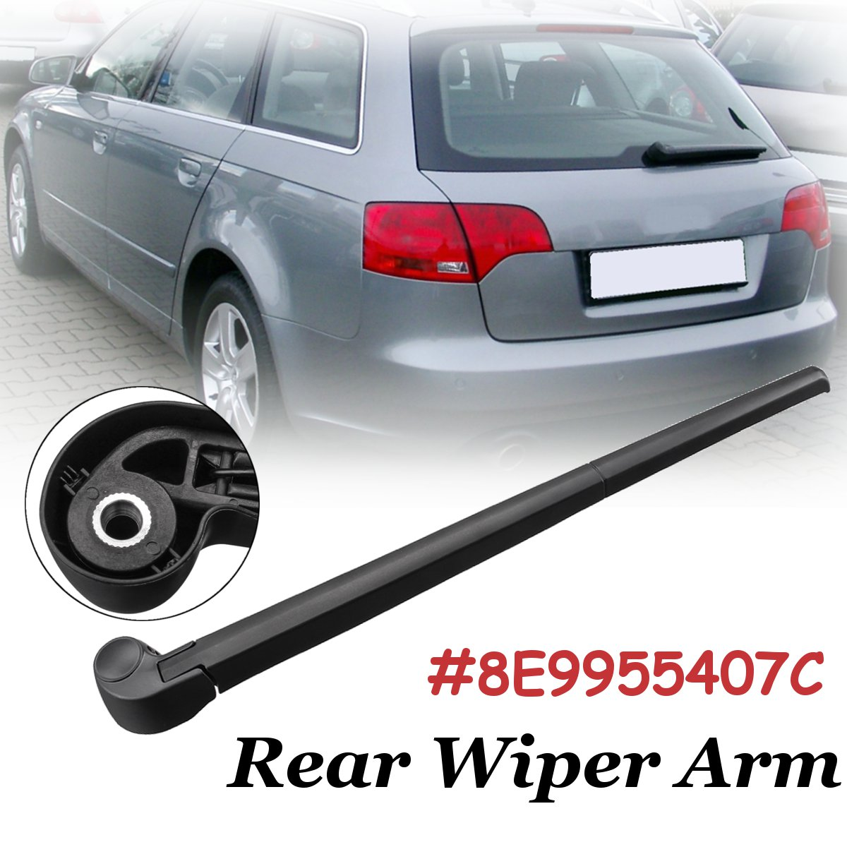 Audi A3 8P 2011 Rear Towing Eye Cover Trim New