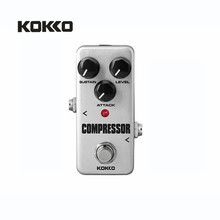 KOKKO FCP2 Compressor Guitar Effect Pedal Mini Electric Bass Guitar Effects Ture Bypass(China)