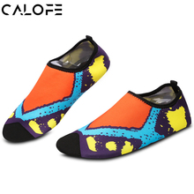 Printed Soft Adult Swimming Fins Diving Socks Non-slip Seaside Beach Shoes Snorkeling Boots Wetsuit Prevent Scratched Size 36-43(China)