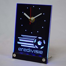 tnc1023 Eredivisie Dutch Holland Netherlands Football 3D LED Table Desk Clock