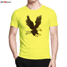 BGtomato T shirt Dream fly Bald Eagle t-shirt Super cool design 3d printed t-shirts Cheap price brand tshirt men(China)