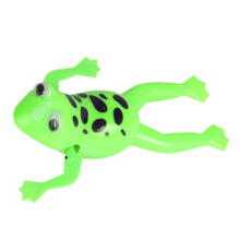 1 Pc Small Animal Baby Bath Toy Swimming Frog Baby Kids Children Clockwork Classic Toys Random Color(China)