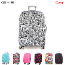 New lastic Cloth Suitcase Dustproof Protective Cover Leopard Color High Quality Trolley Suitcase Protection Cover For18-30 Inch(China)
