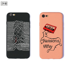 TPU silicon phone case Thirteen 13 Reasons Why Quotes cover for iPhone 7 plus 5 5s se 6 6s cheap cell phone covers(China)