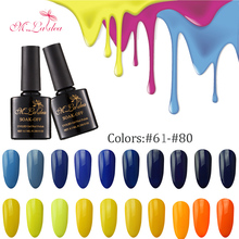 M.Ladea Gel Nail Polish 280 Color Soak Off Long-Lasting Nail Gel professional Nail Varnish LED UV Gel Color Hybrid Lacquer 8.3ML(China)
