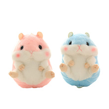 Cute Soft Plush Cartoon Animal Keychain Small Hamster Toy Doll Keyring Stuffed Mouse Pendant Key Chain Women Bag Charms Trinket(China)