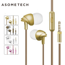 Hot 3.5mm C200 Wired Headset Earphone For iPhone Xiaomi Xiomi 6 Bird Dynamic Stereo Sport In Ear Earbuds Earplus With Microphone(China)