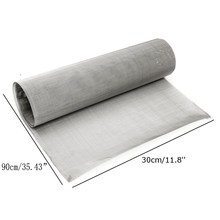 100 Mesh Woven Wire 30x90cm Sheet Cloth Stainless Steel Woven Wire Filter Screen Filter Sheet Colanders Strainers Kitchen Tools(China)