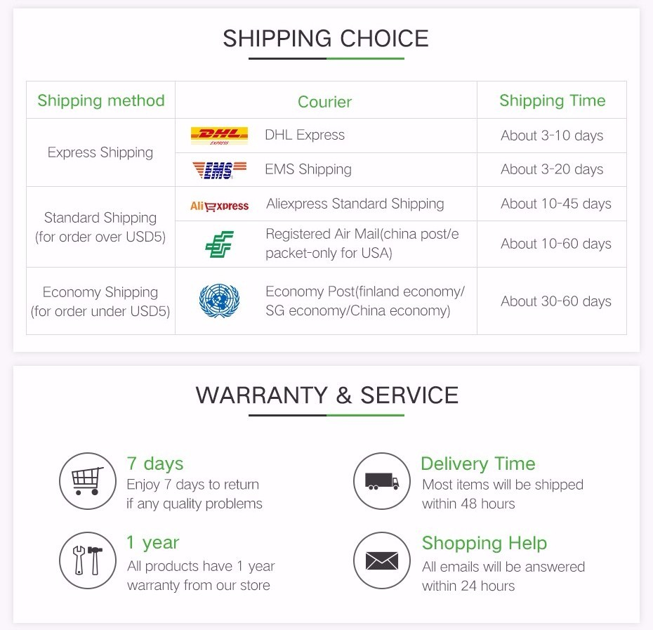 2-warranty and service