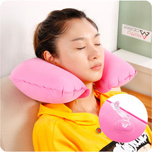 Office U pillow, noon sleeping pillow, airplane inflatable pillow, Travel Portable neck guard, neck pillow for car(China)