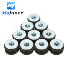 10PCS Motorcycle Rubber Grommets Bolt Replacement For Honda for Yamaha for Suzuki for Kawasaki(China)
