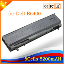 11.1V 5200mAh 6cell High Performance Notebook Laptop Battery for Dell E6400 Silver(China)
