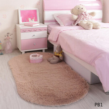 1PC Super Magic Slip-Resistant Pad Soft Room Oval Carpet Floor Tapis Salon Mats 40*60CM/30*50CM(China)