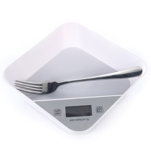 Calorie Control 5KG Electronic Digital Kitchen Scales Mixing Bowl Food Vegetables Herbs Measuring Tools Kitchenware LED Display