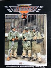 1/35 Resin Figure Model Kit WWII The German kharkov campaign 3 figures Unassambled  Unpainted