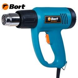 Фен технический BHG-2005N-K (Мощность 2000 Вт, 2 режима работы, 350/550 °С, 300/500 л/мин, защита от перегрева)