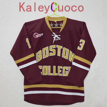 KALEYCUOCO Boston College #13 johnny gaudreau Stitched Hockey Jersey