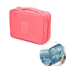 Cosmetic Bags Women Travel Organizer Professional Storage Brush Necessaries Make Up Case Beauty Toiletry Bags