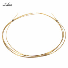 Zebra 2.5M 8FT Electric Acoustic Guitar Accessory Part 2.2mm Width Brass Fret Wire For Musical Instruments Bass Guitar Ukulele(China)