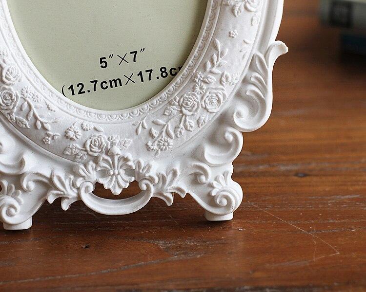 2016 NEW European Home Furnishing white Photo frame 6 inch 7 inch wed_B5_16
