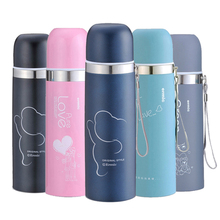 Thermos Bottle Women 500ml Coffee Boy TOP Brand Vacuum Flasks Thermoses for tea 304 stainless steel Thermo mug termos thermocup(China)