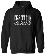 cotton funny fashion hoodies men long sleeve casual Led Zeppelin Rock Zoso harajuku sweatshirt with hat tracksuit hooded male(China)