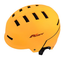 UXCELL Adult Orange Hollow Out  Adjustable Head Strap Pvc 58-63Cm Outdoor Safety Bicycle Bike Skateboard Helmet