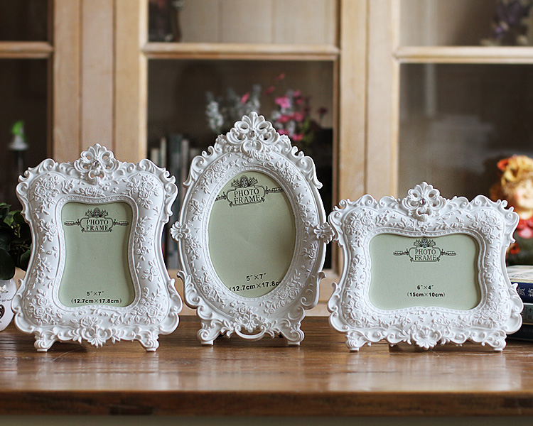2016 NEW European Home Furnishing white Photo frame 6 inch 7 inch wed_B2_13
