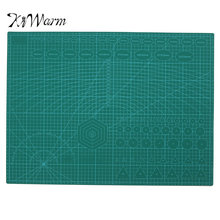 KiWarm A2 PVC Non Slip Double Printed Self Healing Cutting Mat Craft Quilting Scrapbooking Board Patchwork Craft Tools