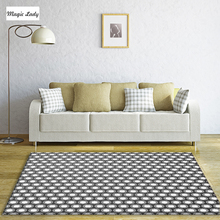 Carpet For Living Room Bedroom Pentagons Shapes Geometrical Decorations Abstract Pattern Texture Forms Modern Figures Gray Beige