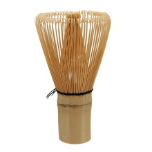 Matcha Whisk Prearing For Green Tea 100 Matcha Powder Tea Brush Natural White Bamboo Chasen Tea Accessories Kitchen Supplies(China)
