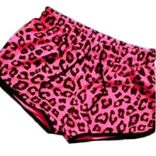 2017 Hot Sale Simple Style Fashion Women Cool Summer Sexy Red Leopard Print Casual Beachs Shorts