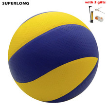 2016 matches volleyball ball Voleibol ball indoor outdoor beach volley ball trainning purpose volley ball Free inflator+net+pin