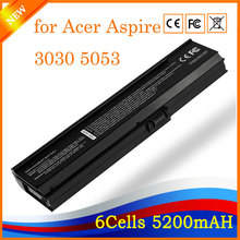 New Replacement laptop battery for Acer Aspire 3030 5053WXMi 5500 Extensa 2400 Travelmate 4310 6 Cells 11.1V(China)