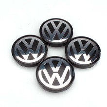 OEM Hub Logo Emblem 55mm Wheel Center Cap Cover for VW Golf Jetta Passat GTI R32 Bora 6N0601171(China)