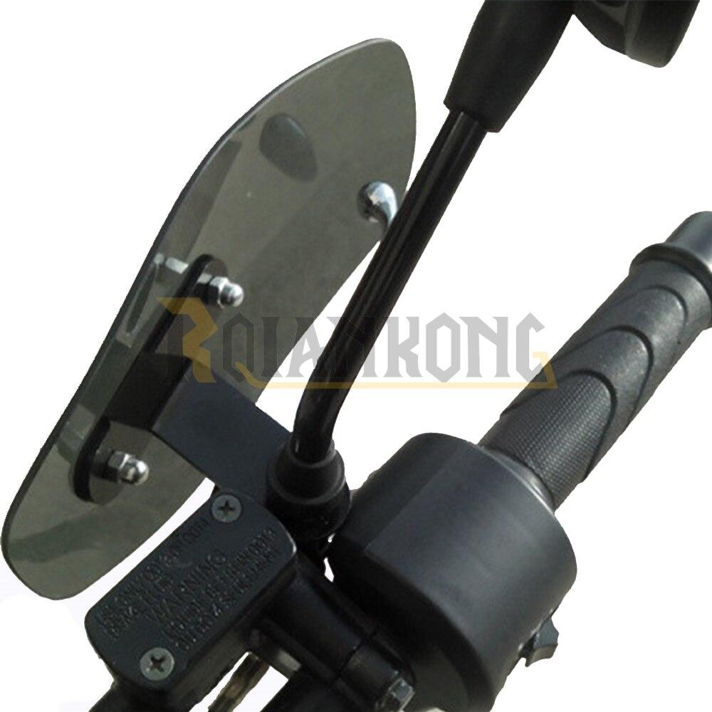 Motorcycle Accessories wind shield handle Brake lever hand guard for Kawasaki Ninja 650R ER-6F ER-6N ER6F ER6N<br>