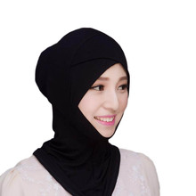 Muslim Headscarf Inner Hat Cotton Bonnet Cap Underscarf Hijab Scarf Cover Abaya Turban Headgear Hooded Instant Arab Islamic