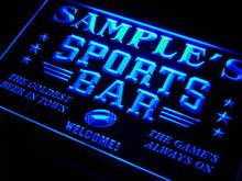tj-tm Name Personalized Custom Sports Bar Beer Pub Neon Sign with On/Off Switch 7 Colors 4 Sizes