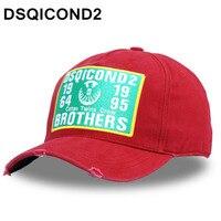 Dsqicond2 algodón Gorras de béisbol DSQ letras de alta calidad hombres  mujeres Cap Winter diseño personalizado 184d39a8ee6