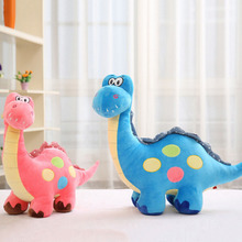 Pink Dinosaur Stuffed Animal Plush Toy Stuffe Dinosaur Stuffed Toys Lovely Simulation Animal Doll(China)
