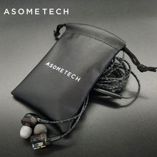 ASOMETECH Storage Pouch Bags Small Earphone USB Cable Audio Line Mini Bluetooth Headset Storage Box Protective Bag Travel Parts(China)