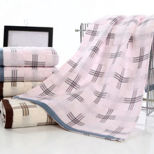 2 pcs/lot Bamboo fiber 33x72 cm Soft Terry Hand Towels for Adults Decorative Face Bathroom Hand Towels(China)