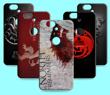 Ice and Fire Cover Relief Shell For Huawei Nexus 6P Cool Game of Thrones Phone Cases For Huawei Maimang 4 G8 G7 G9 Plus
