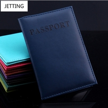 JETTING Artificial Leather Women Passport Holder Couple Models Women's Travel Passport Cover Unisex Card Case Man Card Holder(China)