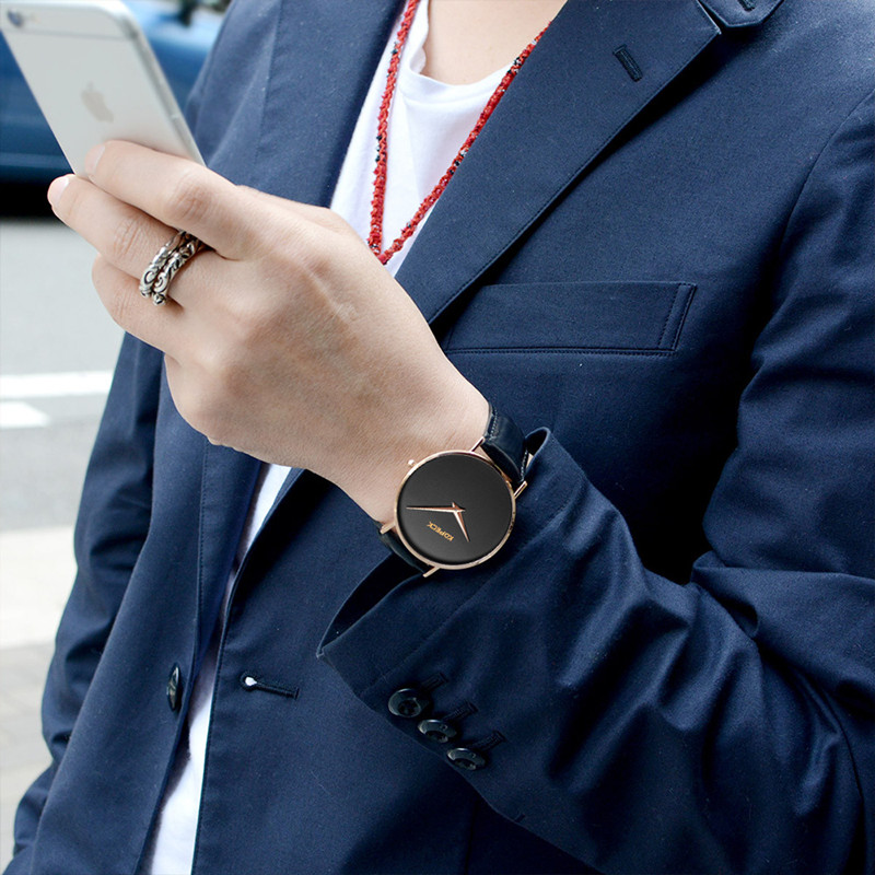 Kopeck Modern Wrist Watch Men 2017 Top Brand Sapphire Male Clock Quartz Watch Golden Wristwatch Quartz-watch Relogio Masculino<br>