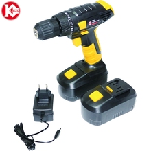Cordless drill with battery Kalibr DA-12-2A + (12B, 2 NiCd Battery, 1 speed) cordless drill, 12v, power tools mini drill