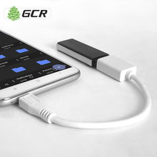 GCR Micro USB OTG 2.0 USB Female to Micro USB Male Black Straight Adapter Easy Connect USB Devices To Smartphone Tablet
